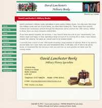 David Lanchester Military Books : www.davidlanchestermilitarybooks.co.uk